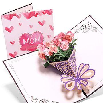 tarjetas de cumpleaños para una madre pop up