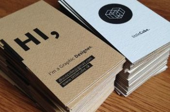 tarjetas de presentacion para negocio ideas en papel