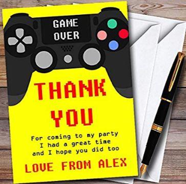 tarjetas digitales cumpleaños infantiles videojuegos