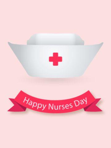 tarjetas por el dia de la enfermera digitales