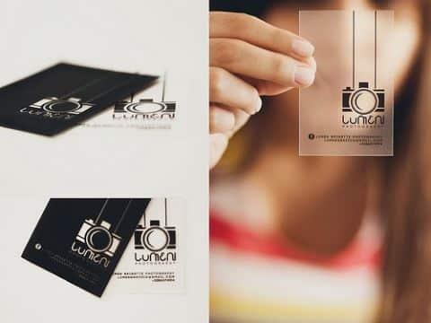 tarjetas presentacion transparentes ideas originales