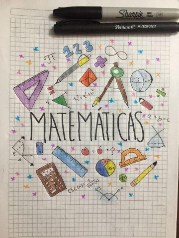 diseños de caratulas para cuadernos dibujadas