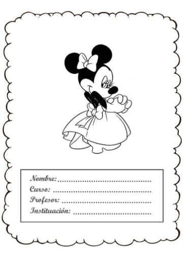 diseños de caratulas para cuadernos para descargar