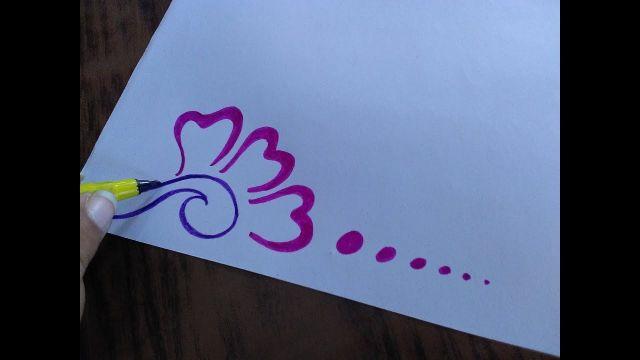 diseños para decorar hojas de cuadernos dibujos