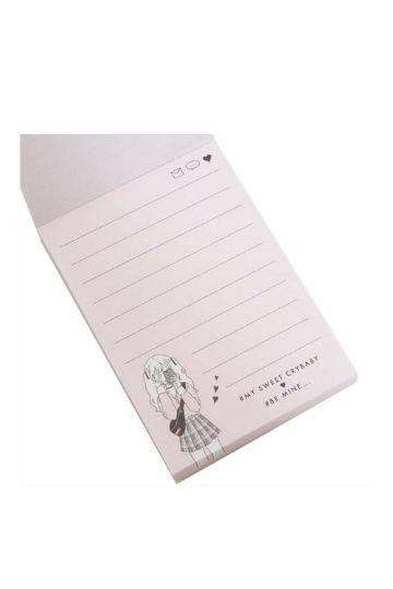 diseños para decorar hojas de cuadernos impresas
