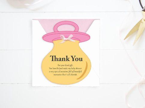 recuerdos para baby shower niña tarjetas digitales