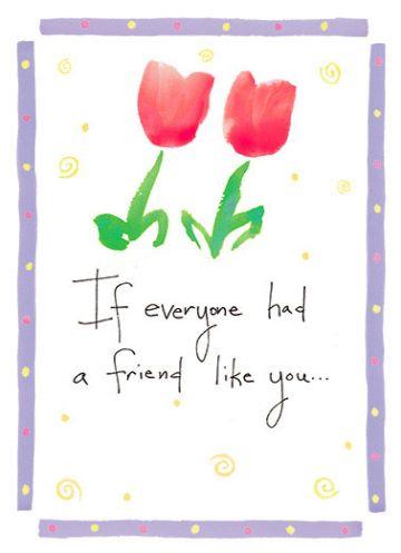 tarjetas de amistad con flores con frases