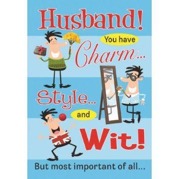 tarjetas de cumpleaños para esposo divertidas