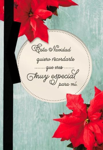 tarjetas de navidad con mensajes positivos