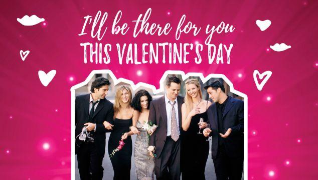 tarjetas de san valentin para amigos basadas en series