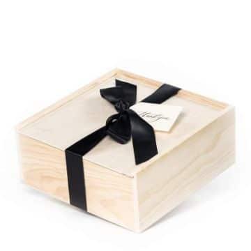 cajas de regalo para hombre de madera