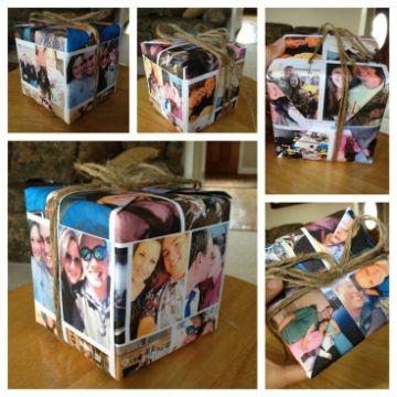 cajas de regalo para mi novio con fotos