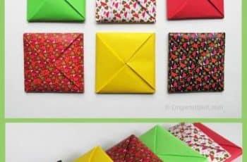 como hacer un sobre de papel estilos de papeles