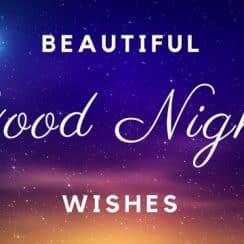 mensajes para desear buenas noches en ingles