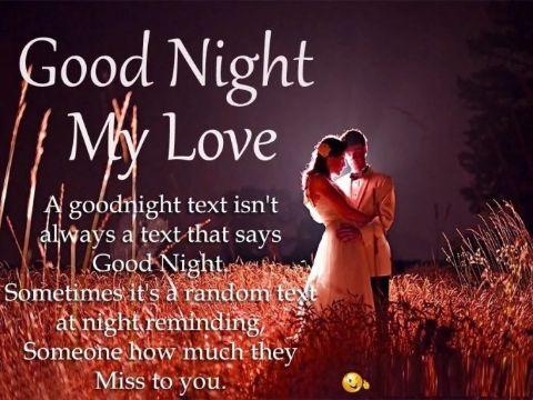 tarjetas de buenas noches amor con foto y frase