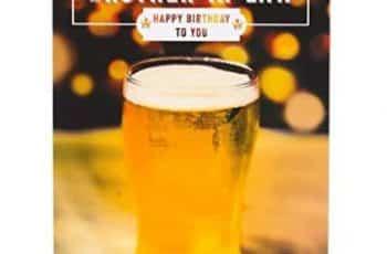 tarjetas de cumpleaños para un cuñado originales