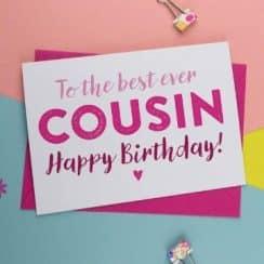 tarjetas de cumpleaños para un primo letras divertidas