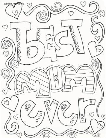 tarjetas dia de la madre para imprimir para dibujar