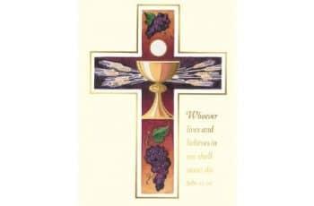 tarjetas para misa de difuntos originales