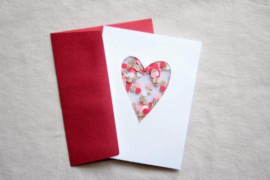 como hacer tarjetas de amor manualidades
