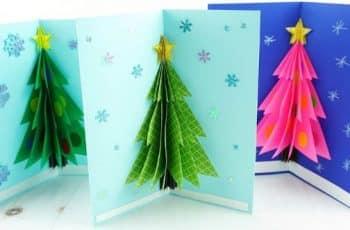 como hacer una tarjeta navideña en 3d