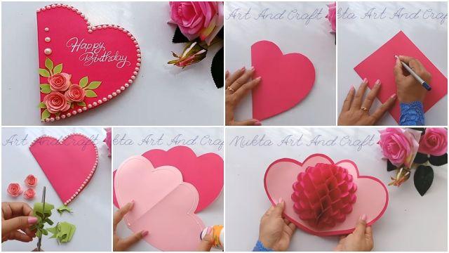 como hacer una tarjetas de cumpleaños paso a paso