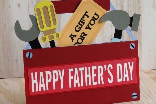 hacer tarjetas para el dia del padre con figuras