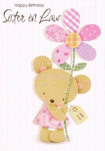 tarjetas de cumpleaños para una cuñada diseños originales