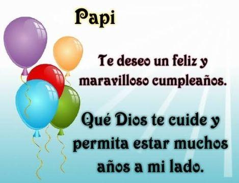 frases para el cumpleaños de un padre sencillas con globos