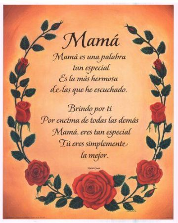 mensajes de dia de las madres ornamentos