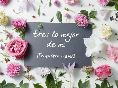 palabras para dia de las madres con flores