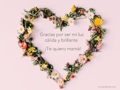palabras para dia de las madres corazon