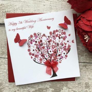 tarjetas de feliz aniversario de bodas detalles coloridos