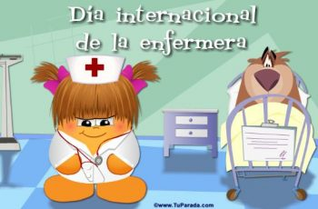 dia de la enfermera internacional personajes animados