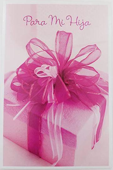 felicitacion de cumpleaños para una hija regalos