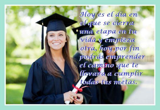 felicitaciones de graduacion de universidad con fotografias