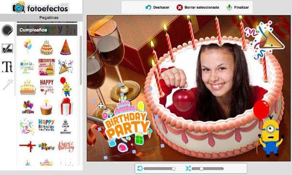 invitaciones virtuales de cumpleaños efectos