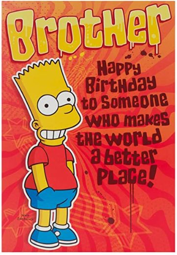 tarjetas de cumpleaños para hermanito personajes animados