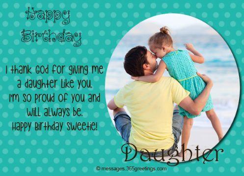 tarjetas de cumpleaños para una hija con fotografias