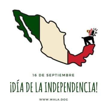 feliz dia de la independencia mexico que usan negocios