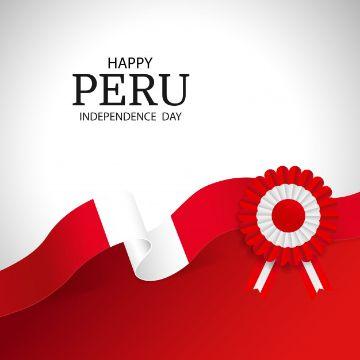 feliz dia de la independencia peru postales