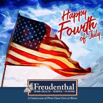 feliz dia de la independencia usa con fotografia