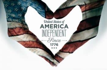 feliz dia de la independencia usa original