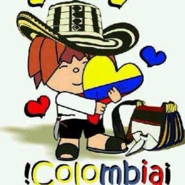 feliz independencia colombia con dibujos
