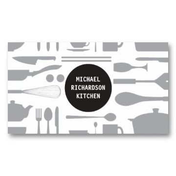 tarjetas de restaurantes creativas minimalista