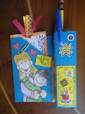 tarjetas para el dia del maestro manuales