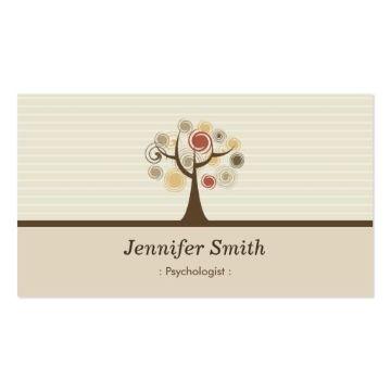 tarjetas personales psicologos logos moderons