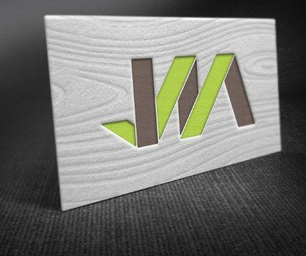 tarjetas de presentacion para carpinteria logotiipos en relieve