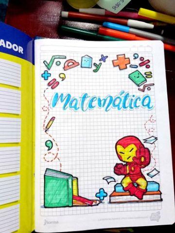 caratulas de matematicas faciles para niños