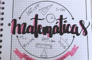 caratulas de matematicas faciles tipografias